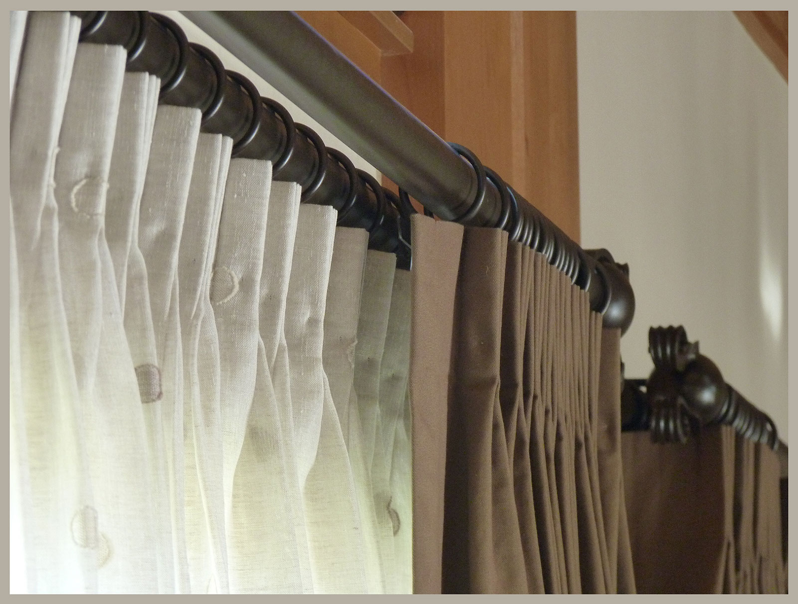 long curtains to lovely rods pertaining double ideas extra traverse curtain rod