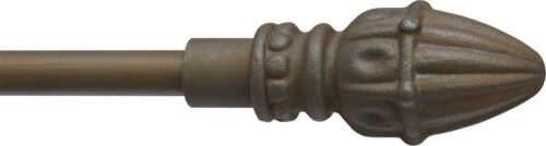 Acer finial for half inch rods
