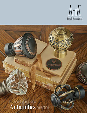 AriA 2016 Metal Hardware catalog cover