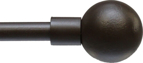 Ball finial for half inch rods