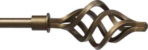Basket finial for half inch rods