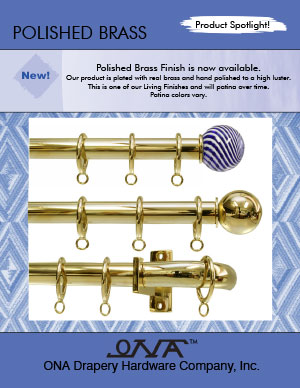 Ona 2014 Polished Brass brochure