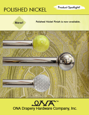 Ona 2014 Polished Nickel brochure