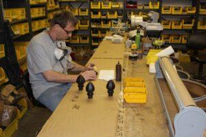 Ona workshop hand finishing