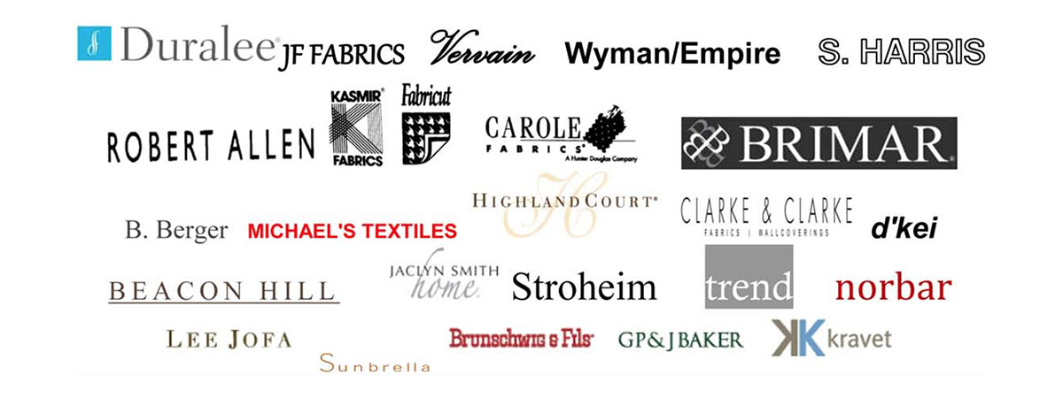 Slide – fabric designer logos