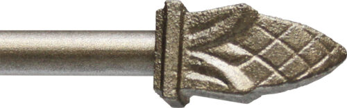 Bishop finial for half inch rods