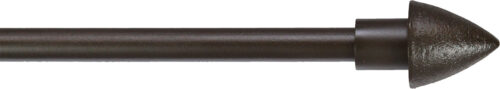 Bullet finial for half inch rods