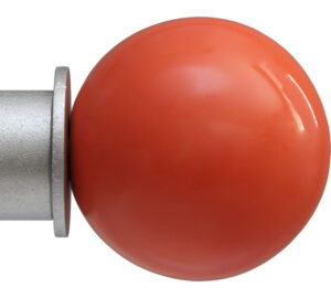 Coral Ball Onalux finial