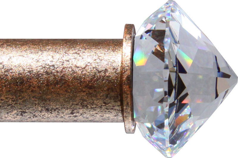 Crystal Chaton finial