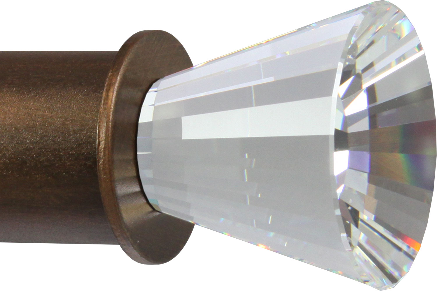 Crystal Radiance finial for large rods