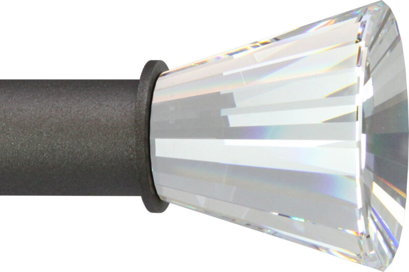 Crystal Radiance finial for small rods