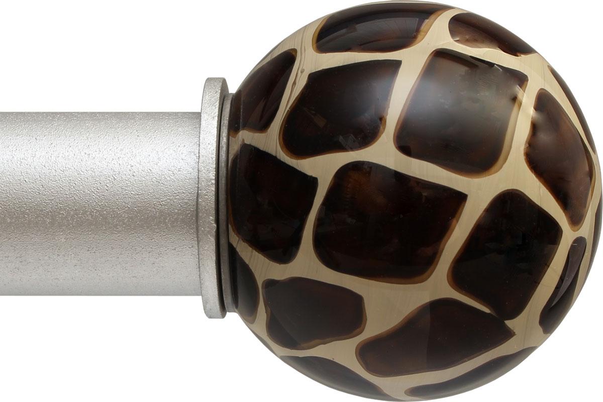 Giraffe Ball ArtGlass finial