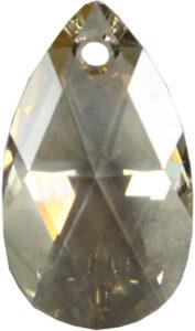 Silver Shade crystal drop