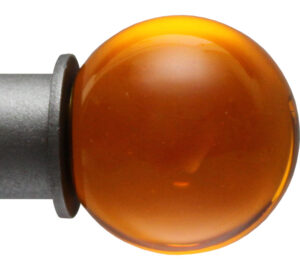 Tangerine Ball Onalux finial