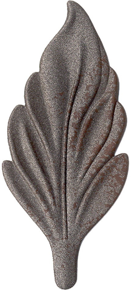 Aged Iron finish chip