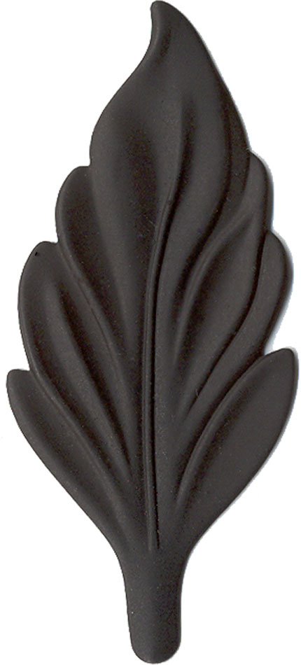 Black finish chip