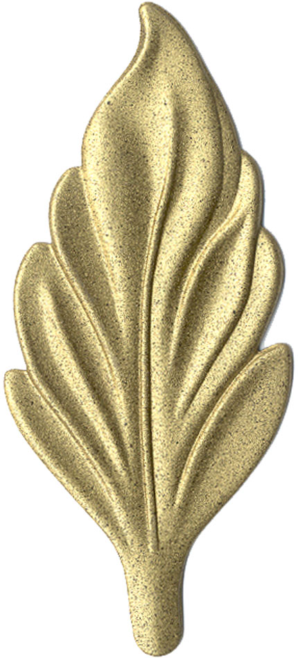 Brass finish chip