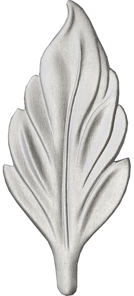 Brite Silver finish chip