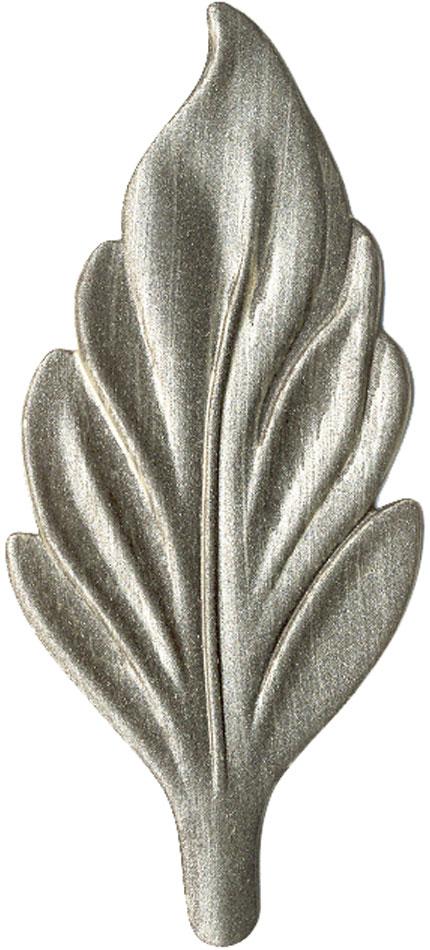 Brushed Nickel finish chip
