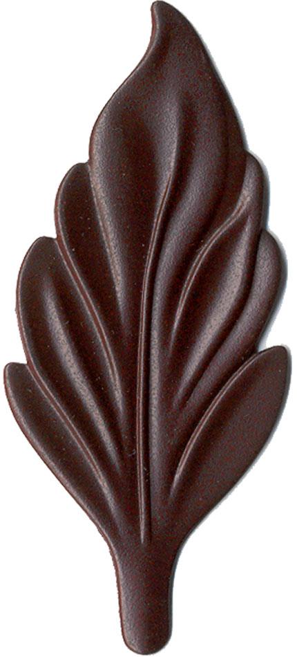 Burgundy finish chip