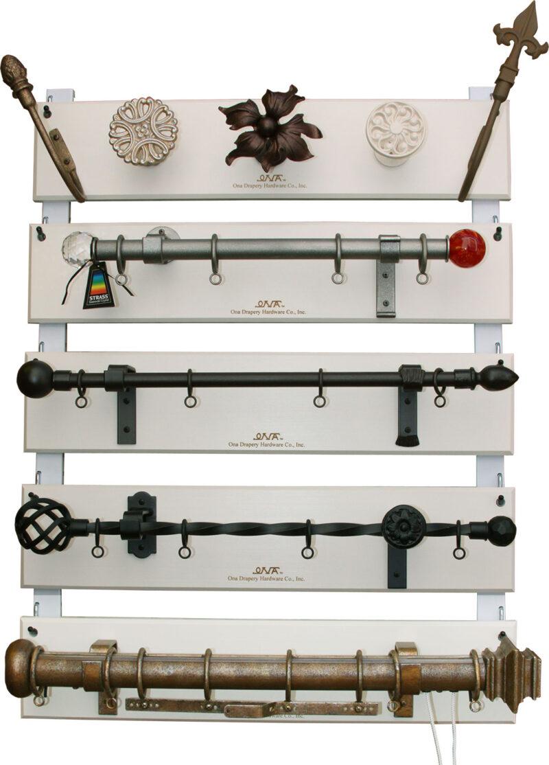 Custom Iron Sample Display Board