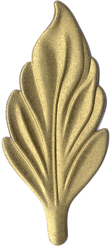 Gold finish chip