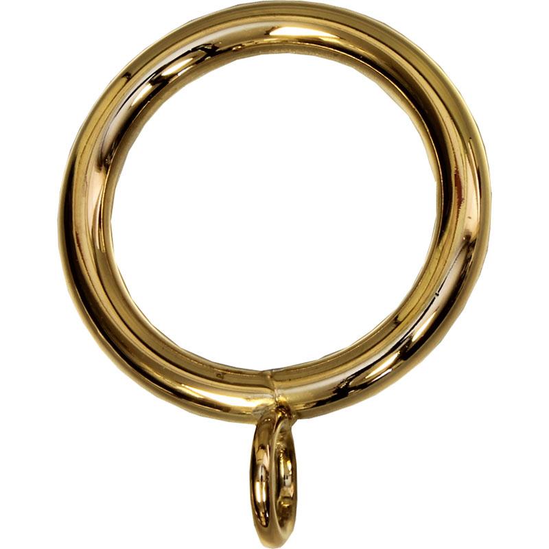 Polished Brass finish on ring