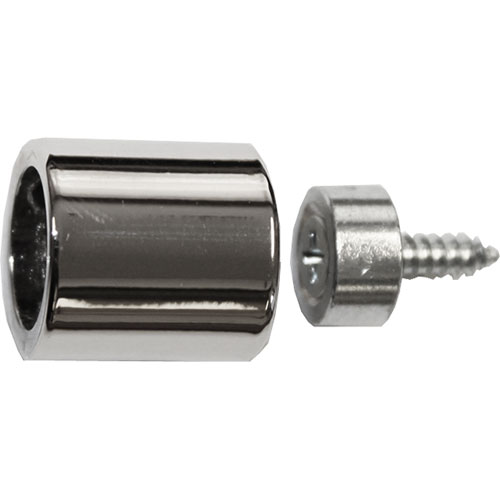Slip Socket with Polished Nickel finish