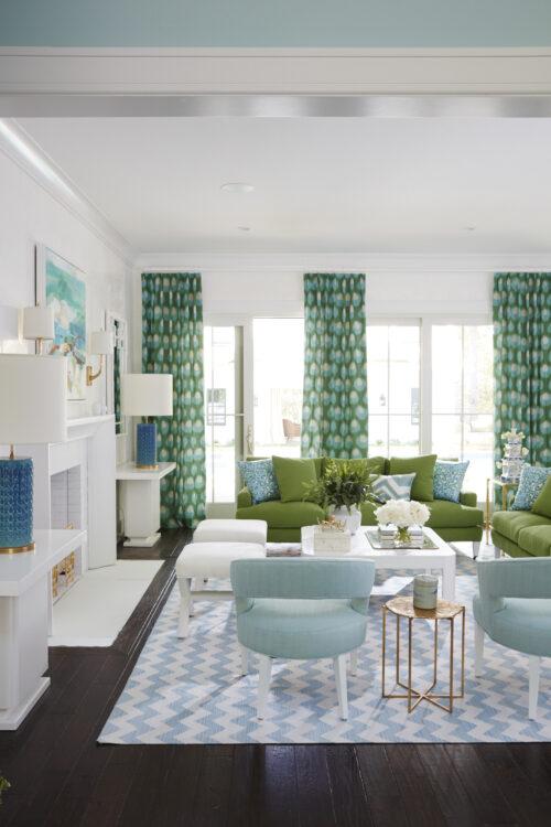Hamptons Showhouse Living Room