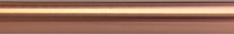 Matte Copper finish on rod