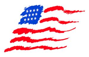 USA Flag for Memorial Day