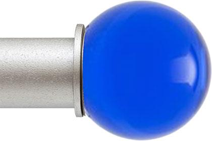 Cerulean Ball ArtGlass finial