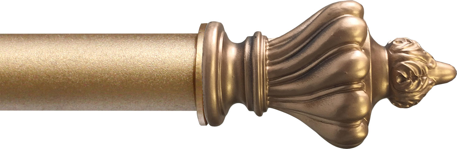 Toulouse finial in Gilt