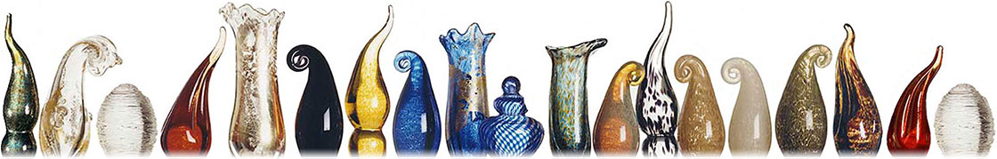 Couture ArtGlass finials