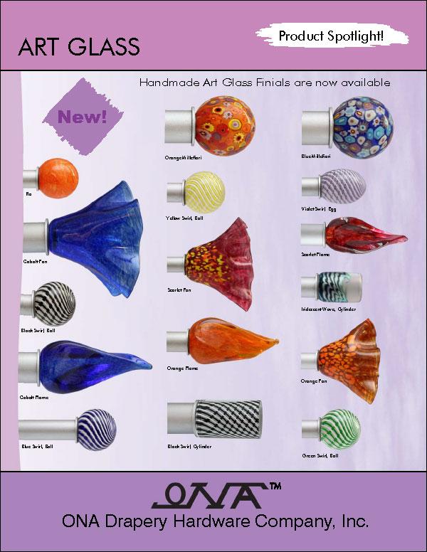 Ona 2014 Art Glass brochure