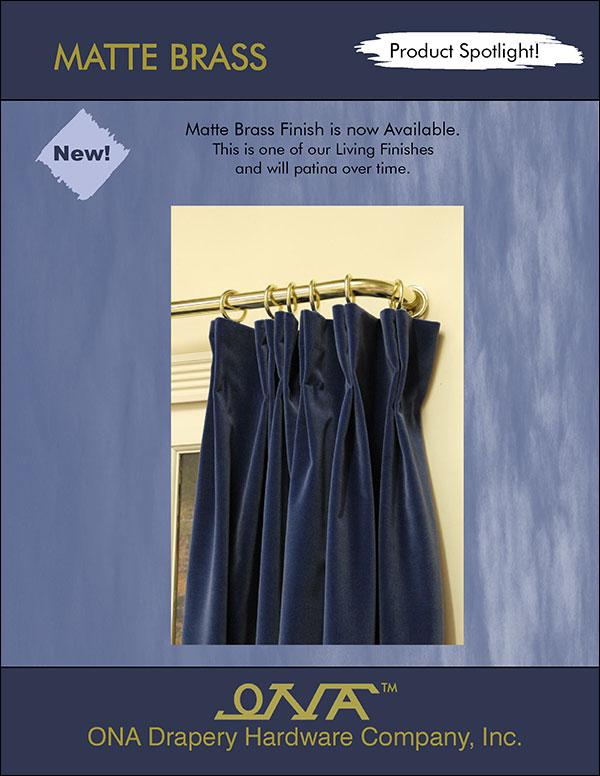 Ona 2014 Matte Brass brochure