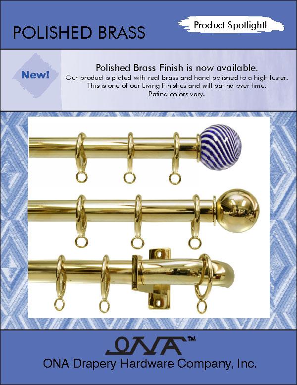 Ona 2014 Polished Brass brochure