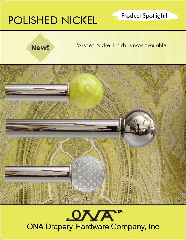 Ona 2014 Polished Nickel brochure